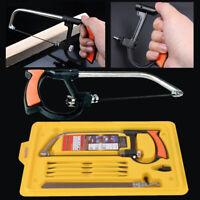 8 in1 Multi functional Hand Steel Saw Hacksaw Metal Wood Glass Cutting Tool Set