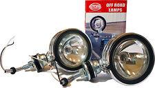 """(2) 130W CHROME 5"""" OFF ROAD LIGHTS JEEP SUV TRUCK 4x4"""