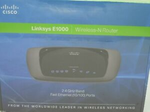 Cisco Linkys E1000 Wireless -N Router