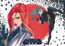 #6 BLACK WIDOW 2020 Upper Deck Marvel Anime AVENGERS