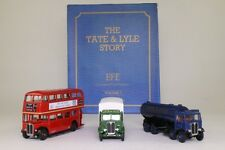 EFE 19901; Tate & Lyle Gift Set; RT Bus; AEC Tanker & Box Van; Excellent Boxed