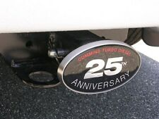 CUMMINS 25TH ANNIVERSARY - RECEIVER HITCH COVER- DODGE RAM 2500/3500