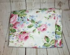 Vintage Ralph Lauren Water Floral duvet cover Twin size country rose 100% cotton