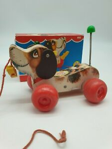Fisher Price Little Snoopy Dog Pull Along Toy