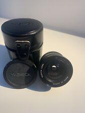 24mm f2.8 Yashica ML focale fissa Contax/Yashica C/Y MOUNT eccellente eccellente caso CAPS