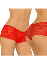 Women Lace Knickers Lingerie Boyshorts G-string Briefs Underwear Panties Thong