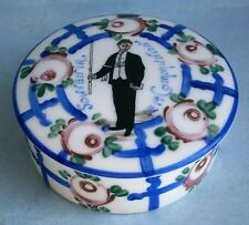 Hand Painted French Porcelain Trinket Box from the early 1900's