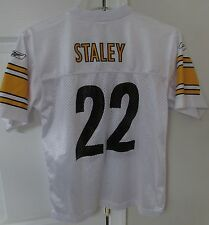NFL Pittsburgh Steelers Duce Staley #22 Youth Jersey Large (14-16) Reebok