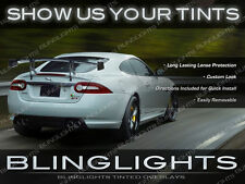 Smoked Protective Tail Light Overlays Tinted Lense Film for Jaguar XK X100 X150