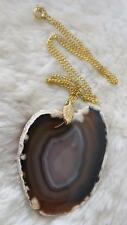 Agate Necklace Vintage Costume Jewellery (1970s)