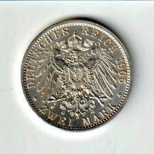 2 Mark Guillaume II 1905 Berlin - ALLEMAGNE - PRUSSE - SUP++/prSPL