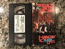 New Kids On The Block Vhs. Hangin' Tough Live.