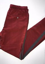 NWT $575 Emporio Armani Red Men's Casual Pants Size 32 US (48 Euro ) Italy
