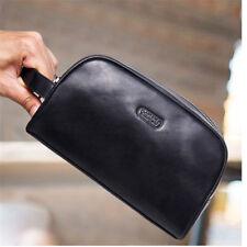Toiletry Bag Men Shaving Travel Black Kit Cosmetic Bag Pouch Gift Zipper Dopp