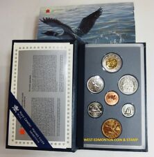 1997 SPECIMEN SET - 7-COIN SET - SPECIAL 10TH ANNIVERSARY LOONIE - FLYING LOON