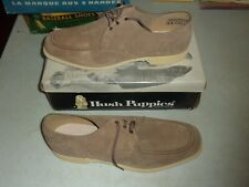 Vintage Hush Puppies Bowling Shoes Deadstock Nos Leather Size 12 Houndawg