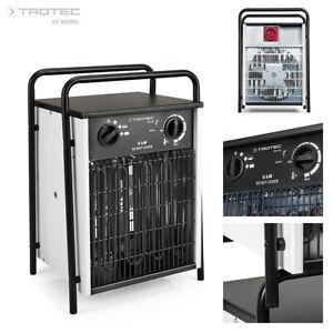 TROTEC Elektroheizer TDS 50  Heizgerät Heizlüfter max. 9 kW Heizleistung
