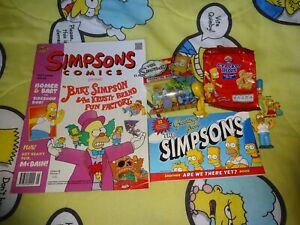 9 Piece Simpsons Lot