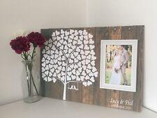 LIBRO degli ospiti nozze-Nozze-Matrimonio Personalizzato ALBERO Libro degli ospiti