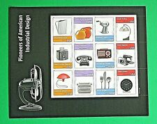 Pioneers of American Industrial Design Forever Stamps (Pane 2011 USA Scott 4546)