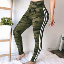 CA Elastic Sports Gym Workout Pants Side Striped Trousers Jogger Sweatpants GW