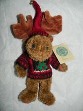 "Nwt Boyds Bears Moose Myron Von Hindenmoose 10"" 912121 New Sweater Christmas Htf"