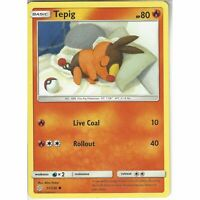 31/236 Tepig | Common Card | SM12 Cosmic Eclipse Pokemon Trading Card Game TCG