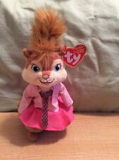 Ty Beanie Baby ~ BRITTANY ~ Chipette Alvin and the Chipmunks ~ MINT ~ NEW