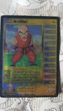 Dragon Ball Z Ccg Tcg P6 Krillin Lv4 Gold Promo Card