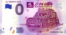 67 STRASBOURG 4L Trophy, N° de la 2ème liasse, 2019, Billet 0 € Souvenir