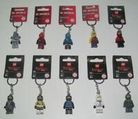 Lego ® Porte Clés Figurine Minifig Ninjago & Ninjago Movie Choose Keychain