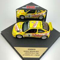 Skid 1:43 SKM99030 Renault Megane Maxi 1998 Lebanon Rally Nasrallah/Matar