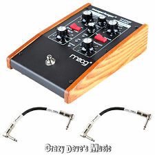 MOOG MF-103 Moogerfooger 12-Stage Phaser Effects Pedal NEW w 2 Patch Cables
