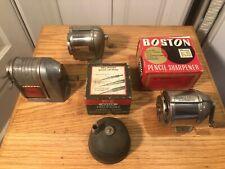 Vintage Boston & Apsco Pencil Sharpeners, Keuffel & Esser Pencil Lead Pointer.
