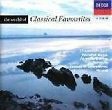 WORLD OF CLASSICAL FAVOURITES, THE: Feat. Bach, Mozart, Tchaikovsky CD NEW
