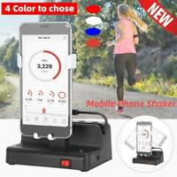 Automatical Mobile Phone Shaker Swing Steps Counter Cellphone Pedometer USB