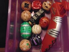 Vintage lot of Bakugan Battle Brawlers with Magnetic cards and Launcher