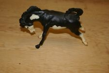 Breyer Classics Horse Show Special Black pinto Bucking Bronco Signed Peter Stone
