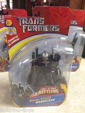 Transformers Fast Action Battlers Figure MOC - BLADE SHIELD BARRICADE