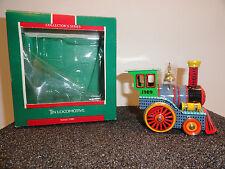 Hallmark Tin Locomotive 1989 Ornament