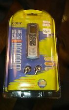 Coby Digital Voice Recorder Model: CX-R188 BNIP NEW