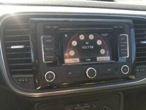 12-16 VW VOLKSWAGEN BEETLE OEM NAVIGATION RADIO DISPLAY AND RECEIVER 1K0035274D