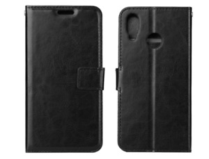 Leather Book Case Style Wallet Cover With Stand For Huawei P20 PRO LITE