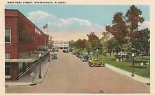 West Park Street in Winterhaven FL Postcard