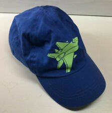 Target Infant Hat Cap Blue and Green Jet Airplane Size 2T - 5T