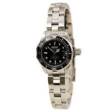 Invicta 8939 Women's Pro Diver Black Dial Steel Bracelet Watch