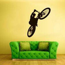 Wall Decal Vinyl Sticker Decals Bike Cycle BMX Bicycle Jump (Z2619)