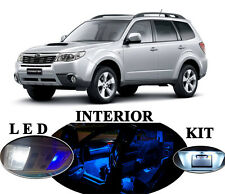 LED Package - Interior + License Plate + Vanity for Subaru Forester (12 pieces)