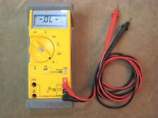 FLUKE NO.29 SERIES II MULTIMETER PROTECTIVE RUBBER CASE LEADS WORKS GREAT