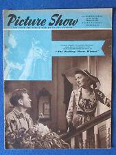 Picture Show Magazine - 4/2/1950 - John Mills & Valerie Hobson Cover